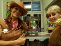 Witanie gości - a w tle czekoladówka zrobiona dla Nas przez Madzię:)
