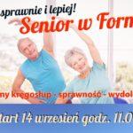 Kolejna nowość Senior w Formie!